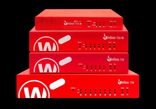 WatchGuard T15-W, T35-W, T55 and T70 T Series Fireboxes