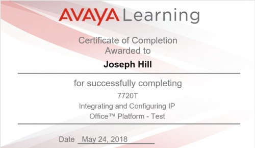 New Certification Gained | Connexis